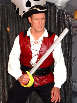 pirate magic show with puppets birthday parties magicians
