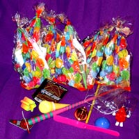 googie bags eight coll toy items